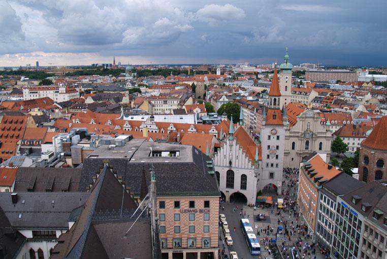 Средневековые здания центральной