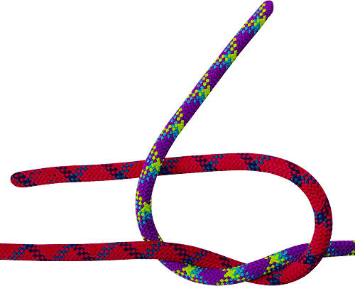 схема вязаний туристических узлов